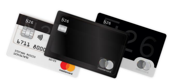 carta credito prepagata n26